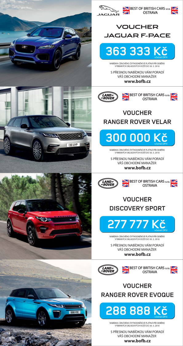 Vouchery Jaguar Land Rover